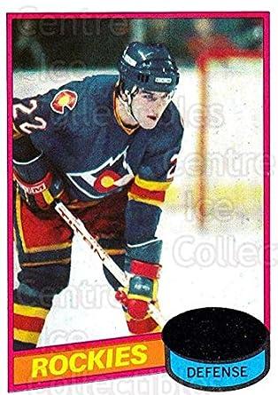 3e299c3bd Amazon.com  (CI) Joel Quenneville Hockey Card 1980-81 Topps (base ...