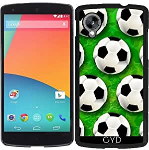 Funda para Google Nexus 5 - Fútbol Modelo Del Fútbol Pelota by BluedarkArt