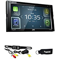 JVC KW-V830BT Android Auto/Apple CarPlay CD/DVD with Back Up Camera