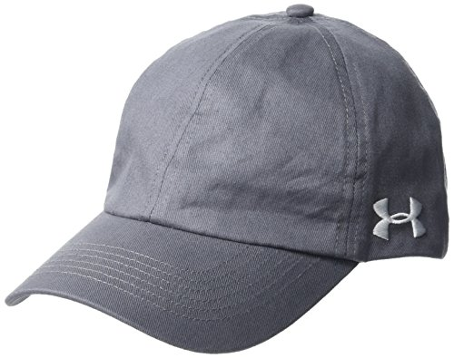Under Armour Womens Team Armour Cap, Graphite (040)/White, One Size
