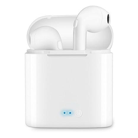 Peloo TWS Auriculares in-ear inalámbricos Bluetooth, Bluetooth 4.2 Manos libres Bluetooth Auriculares inalambricos