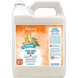 Tropiclean Bite Relief After Bath Treatment for Pets, Gallon