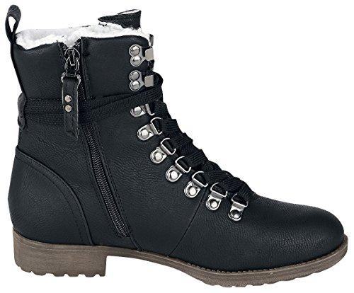 Brandit Frauen Winter Schuhe Schwarz
