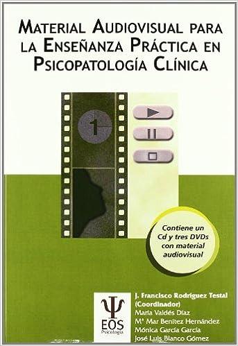 Resultado de imagen de Material audiovisual para la enseñanza práctica en psicopatología clínica