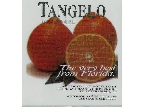 Florida Tangelo Wine