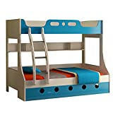 HomeTown Jerry Single Size Bunk Bed (Blue)