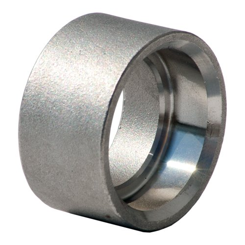 Stainless Steel 316 Cast Pipe Fitting, Half Coupling, Socket Weld, MSS SP-114, 3/4