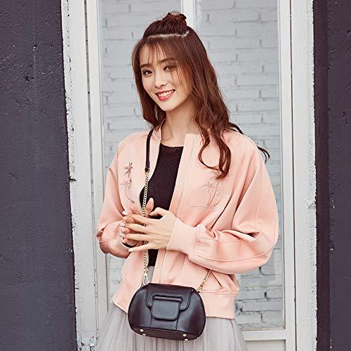 Pour Lady Simple Wild Sac Cuir Femme Rose Coréen À Bandoulière En Pink qnARO