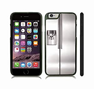 iStar Cases? iPhone 6 Plus Case with Metallic Refrigerator, Photo, Close-up , Snap-on Cover, Hard Carrying Case (Black)