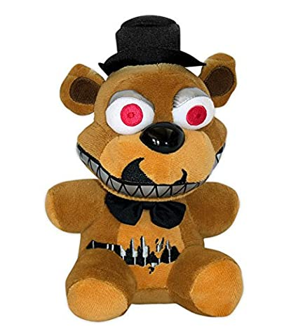 Peluche oso Freddy, 15 cm. Five Nights at Freddys. Versión Nightmare. Funko