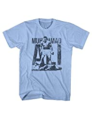 Muhammad Ali Greatest Boxing Legend Distressed Victory Adult T-Shirt Tee
