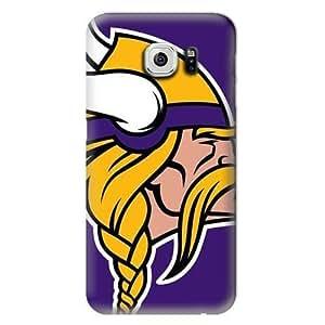 S6 Edge Case,NFL-Minnesota Vikings Samsung Galaxy S6 Hard Case,Fashion Samsung Cell Case