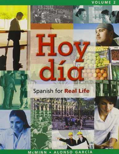 Audio CDs for Studnt Edition for Hoy dia, Spanish for Real Life, Volume 2