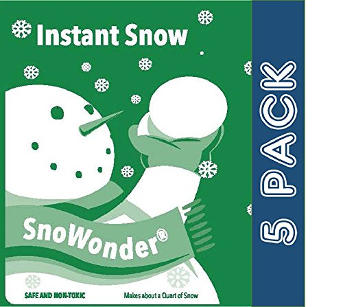 Instant Artificial Snow Mix - Bonus Projects eBook - Home Decor - Children's Play - Party Packs - Christmas Card Stuffer - Seasonal Accents - Classroom Science Projects (5)