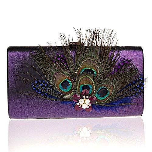 HT Ladies Evening Handbag - Gancho para bolsos  Mujer Verde
