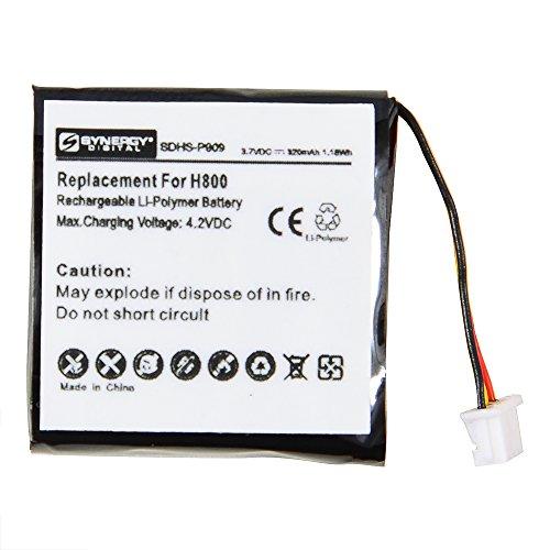 Logitech H800 Cordless Phone Battery (Li-Pol 3.7V 320mAh) Battery - Replacement For Logitech 533-000067 Headset Battery