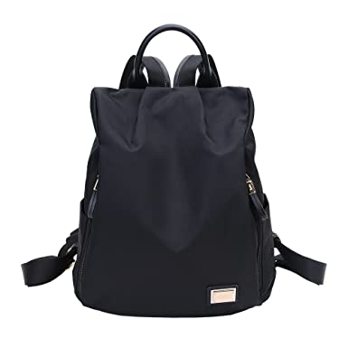 acf975a238ae Laifu Nylon Backpack Women Anti-theft Daypack Girls Casual Travel Backpack