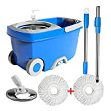 New 360 spin mops and buckets for floor cleaning, Hand pressure...