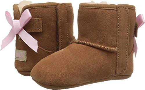 UGG Girls' I Jesse Bow II Fashion Boot, Chestnut, 4/5 M US Toddler