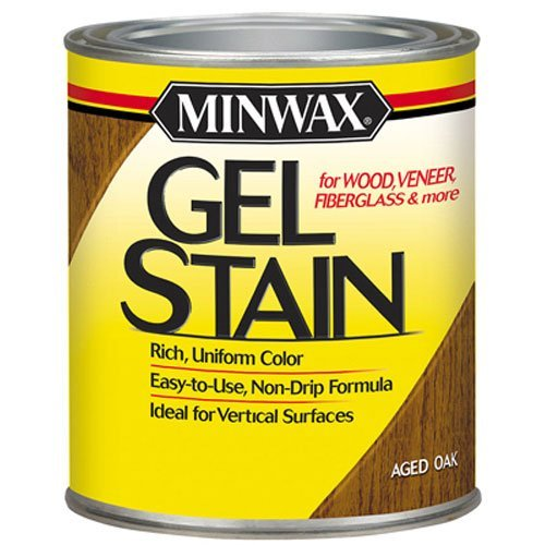 (Minwax 66020000 Gel Stain , quart, Aged Oak)
