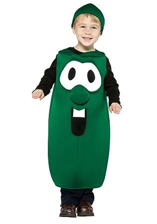 Amazon.com: Veggie Tales – Larry el pepino bebé/niño disfraz ...