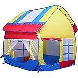 Truedays Kids Outdoor Indoor Fun Play Big Tent Playhouse, 55.1x47.2-Inch