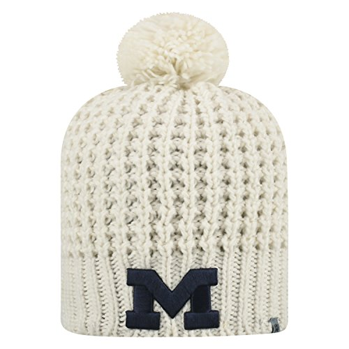 - Top of the World Michigan Wolverines Official NCAA Uncuffed Knit Slouch 1 Beanie Hat 476896