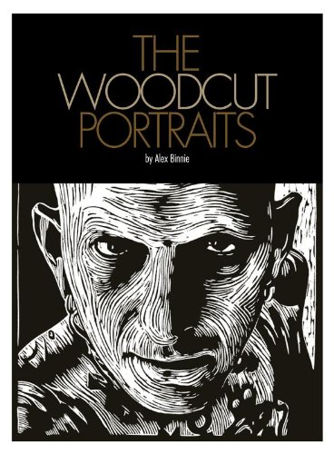 Woodcut Portraits by KINTARO PUBLISHING