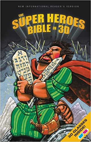 Jean E. Syswerda - Nirv, The Super Heroes Bible In 3d, Hardcover