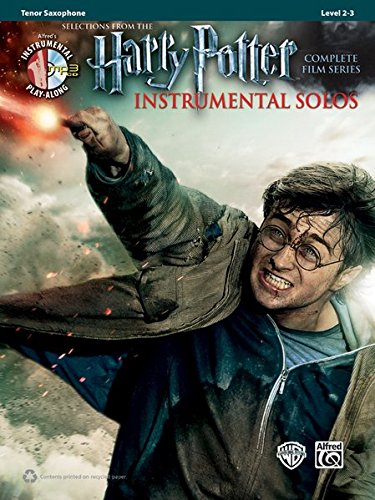 Harry Potter Instrumental Solos: Tenor Sax, Book & CD (Pop Instrumental Solo Series)