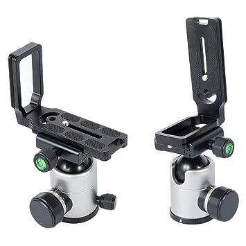 Leoboone Durable Use Universal MPU-105 Soporte de Placa L de ...