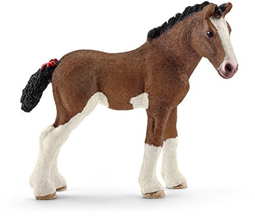Horse Club Schleich Clydesdale Foal Toy by Horse Club