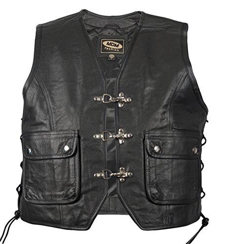 MDM - Manteau sans manche - Veste - Homme Noir Noir