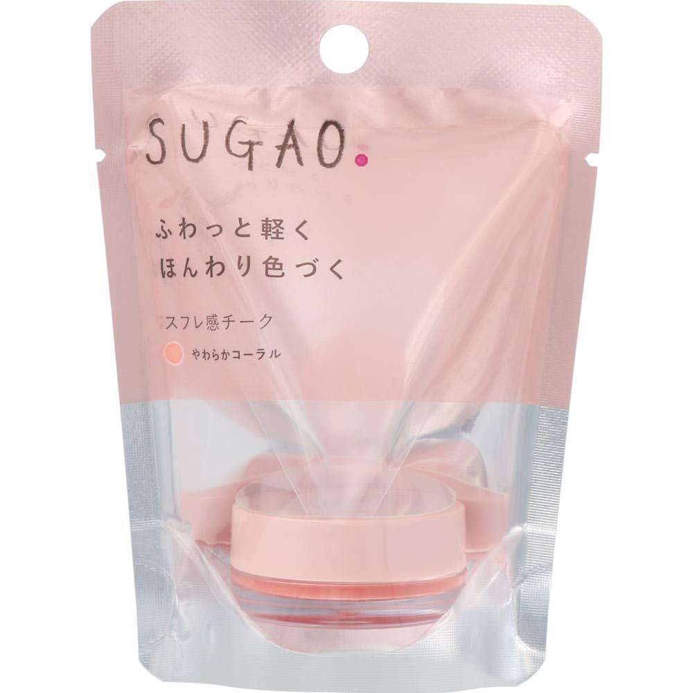 【ロート製薬】スガオ スフレ感チークのサムネイル