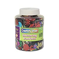 Chenille Kraft brillante confeti Shaker Jar