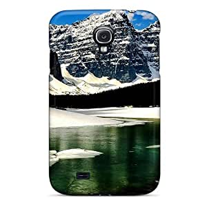 For Galaxy Case, High Quality Snow Mountain Lake For Galaxy S4 Cover Cases