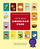 It's All American Food, David Rosengarten, 0316159204