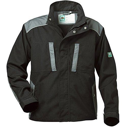 """Elysee 22551-xl tamaño XL """"Arsenal lienzo waist-jacket–negro/gris"""