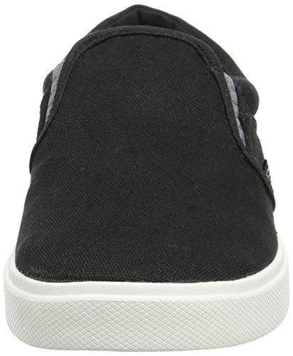 Crocs Citilnslpsnkrm, Zapatillas para Hombre Negro (Black/white)