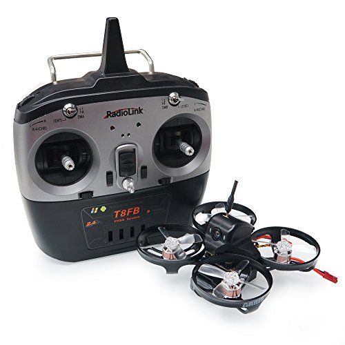 ARRIS X90 90MM Micro Brushless Drone FPV RC Racing Drone Quadcopter RTF w/FPV Camera + 2S Battery + 4in1 Flight Controller + Radiolink T8FB