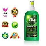 Insect Repellent Mosquito Repel Bugs Off Spray Protection - 7 in 1 Natural DEET Free Formula Repels Ticks Chigger Fly Mosquitoes Bug Flies - Travel Size Repellents for Adults & Kids with 100% Warranty