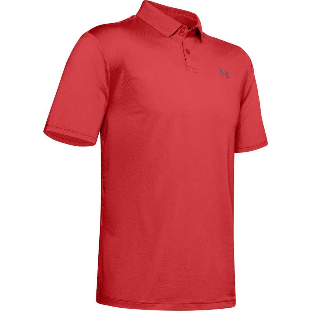 Under Armour Men's Performance Polo 2.0, Martian Red//Pitch Gray, Large by Under Armour