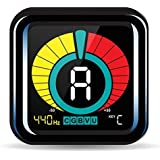 Tuner On Guitar Clip-On Tuner for Guitars,...