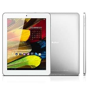 Ainol Novo9 Spark - Retina 9,7 pulgadas (2048 x 1536 píxeles) pantalla del IPS Allwinner A31 Quad Core 1.5GHz Tablet PC Android 4.1 Jelly Bean 2G RAM de doble cámara de 5MP HDMI (Blanco)