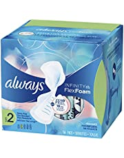 Always Infinity Unscented Pads with Wings