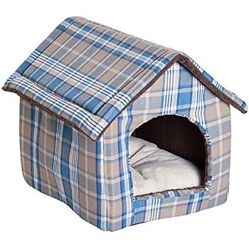 Amazon.com : Super Nice Brown Indoor soft Dog House/pets