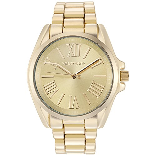 gold colored watch - 5