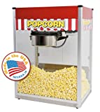 Paragon Theater Pop 16 Ounce Popcorn Machine for Professional Concessionaires Requiring Commercial Quality High Output Popcorn Equipment (Sports)