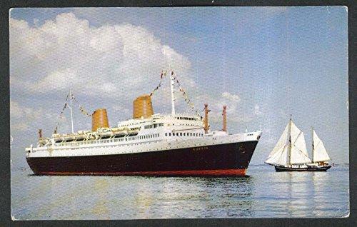 100% quality united states no sale tax MS Europa North German Lloyd Bremen ocean liner postcard ...