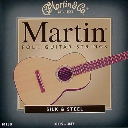Real Juego de acordes de guitarra acústica folk Martin Traditional ...